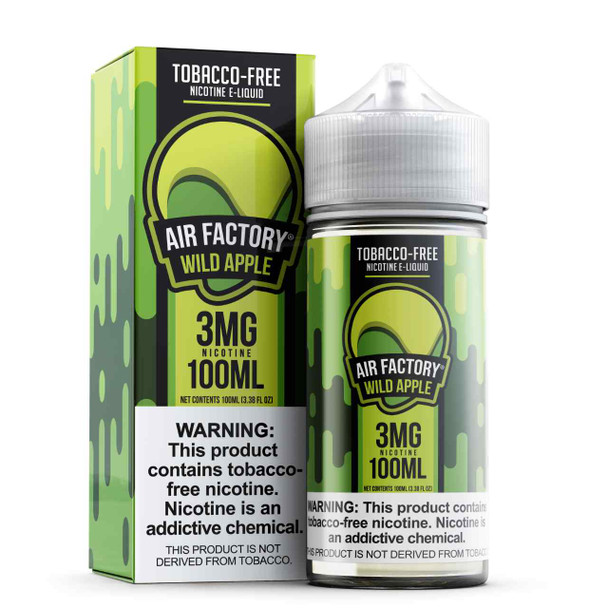 Air Factory Wild Apple Tobacco Free Nicotine 100ml E-Juice
