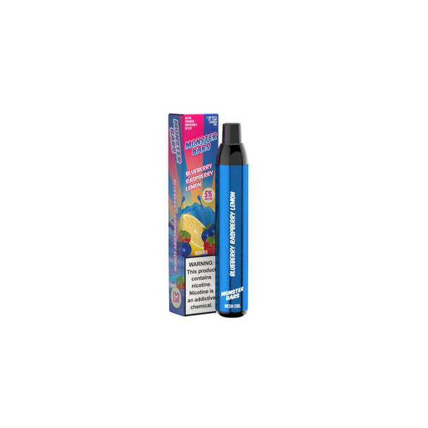 Monster Bars Disposable Device (2500 Puffs)