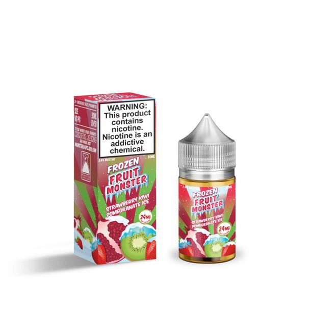Frozen Fruit Monster Strawberry Kiwi Pomegranate Ice Salt 30ml E-Juice