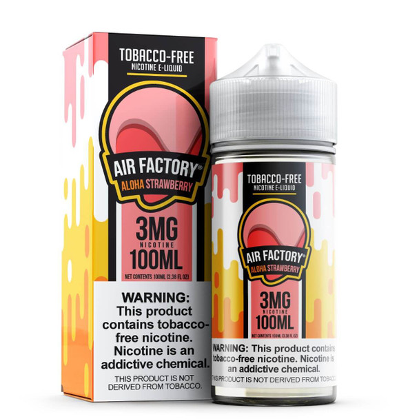 Air Factory Aloha Strawberry Tobacco Free Nicotine 100ml E-Juice
