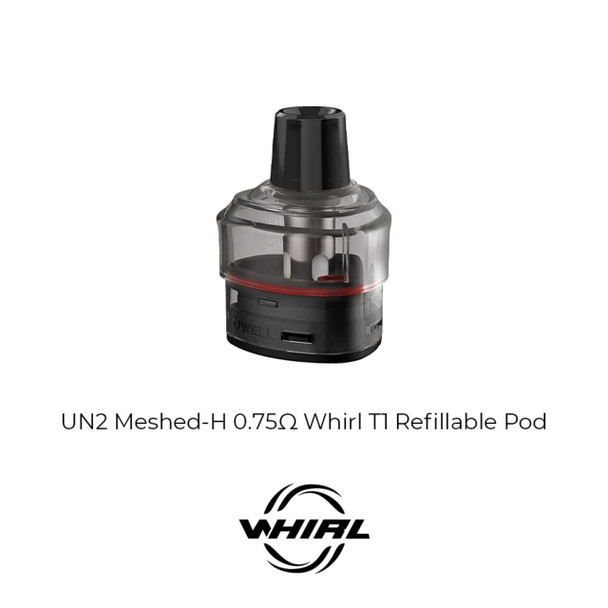 Uwell Whirl T1 Replacement Pod Cartridge