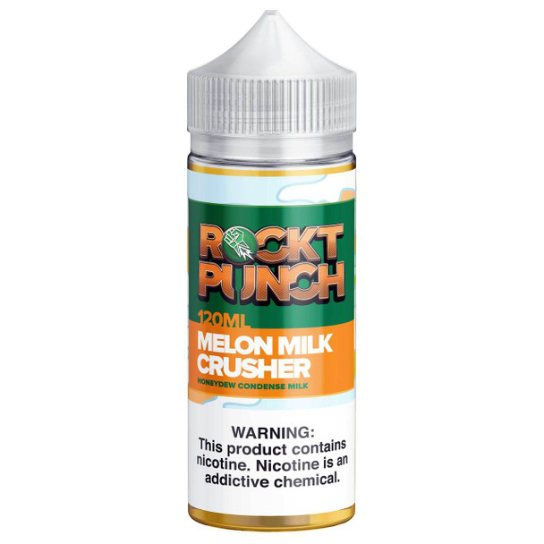 Melon Milk Crusher E-Liquid 120ml by Rockt Punch eJuice
