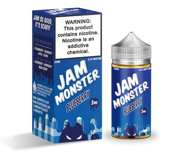 Blueberry Jam E-Liquid 100ml by Jam Monster eJuice