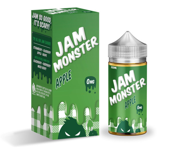 Apple Jam E-Liquid 100ml by Jam Monster eJuice