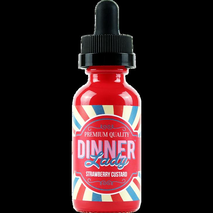 Strawberry Custard E-Liquid 60ml by Dinner Lady eJuice