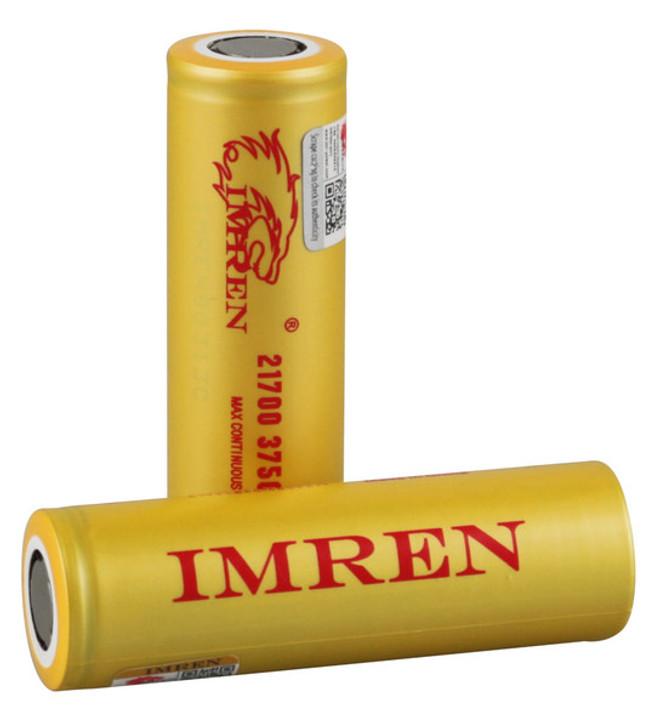 Imren 21700 3750mAh 40A IMR Battery (Pack of 2)