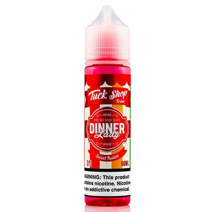 Tuck Shop Sweet Fusion E-Liquid 60ml by Dinner Lady eJuice
