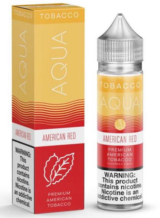American Red eJuice by Aqua Tobacco E-Liquid 60ML