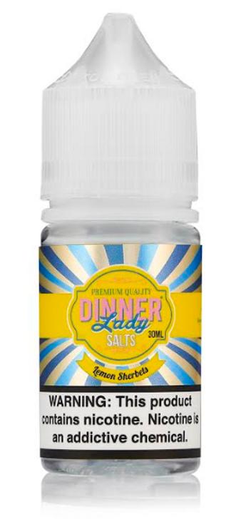 Lemon Sherbets Salt eJuice by Dinner Lady E-Liquid 30ML