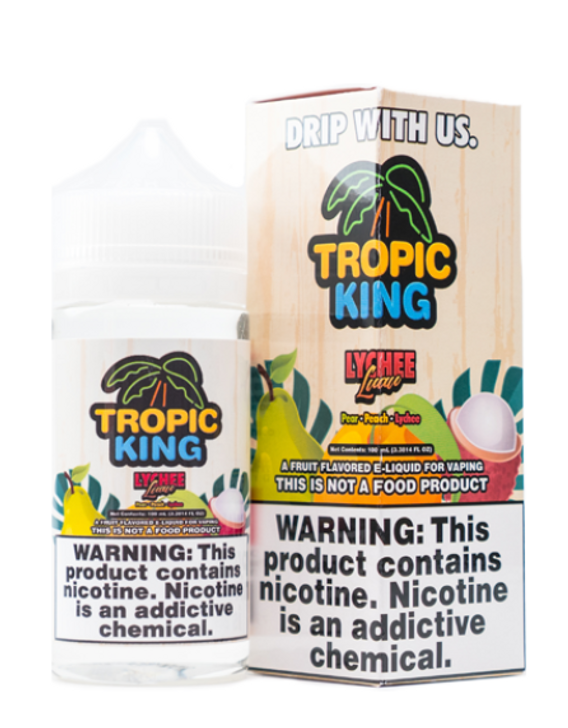 Lychee Luau eJuice by Tropic King E-Liquid 100ML