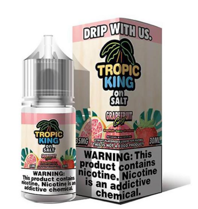 Grapefruit Gust eJuice by Tropic King on Salt E-Liquid 30ML