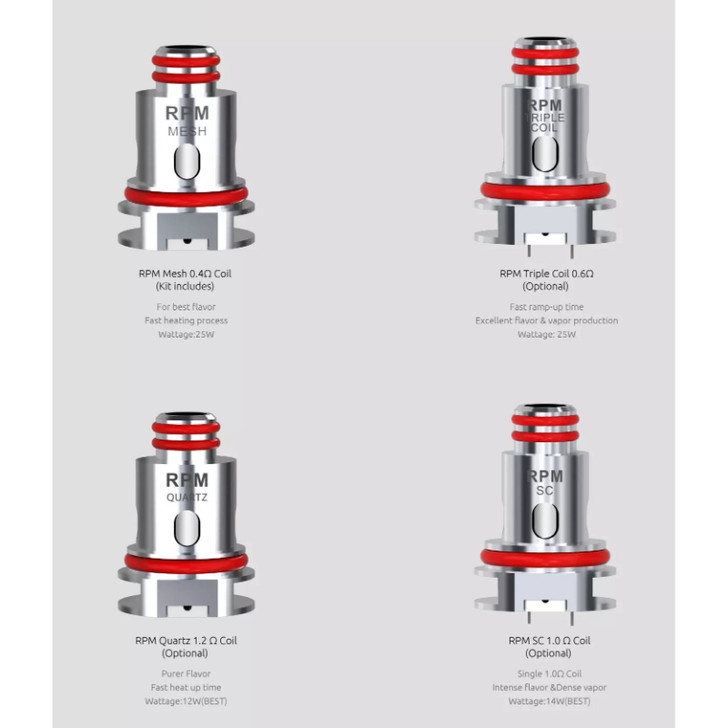 Smok RPM40 Coil (Pack of 5)