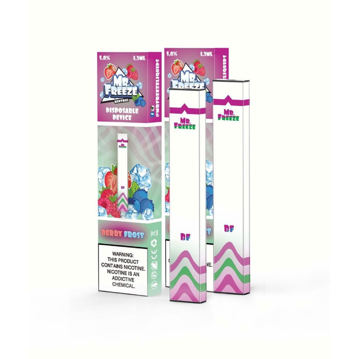 Mr.Freeze Berry Frost Disposable Pod