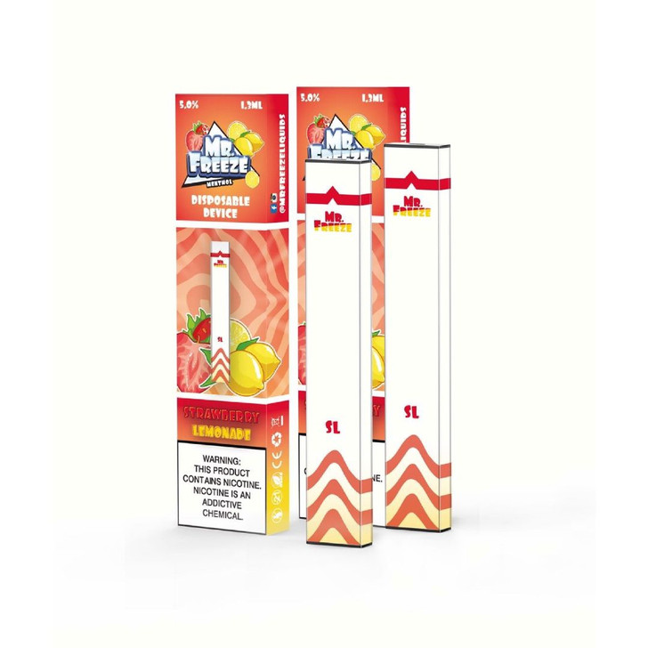 Mr.Freeze Strawberry Lemonade Disposable Pod