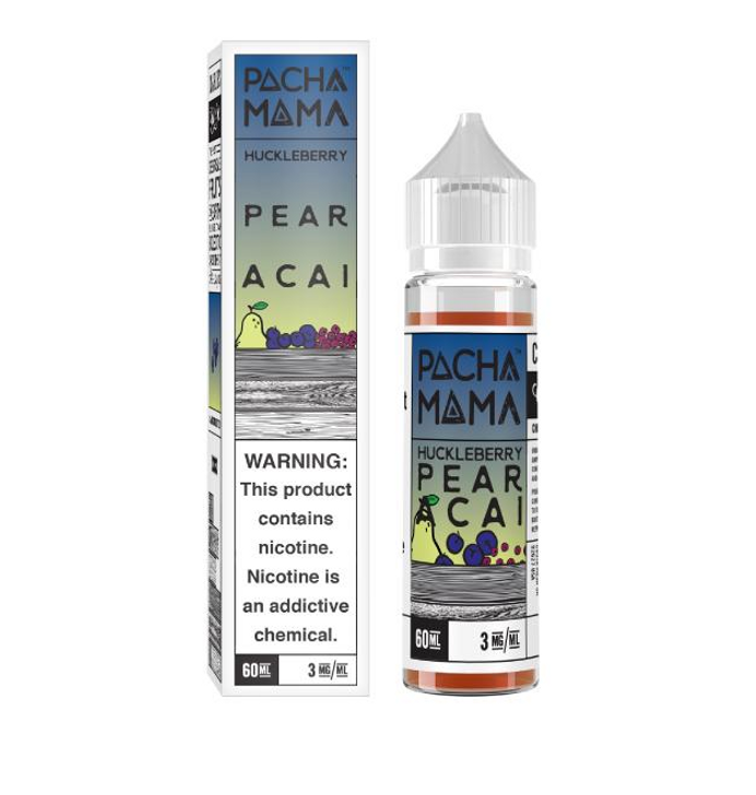 Huckleberry Pear Acai eJuice by Pachamama 60ML - NO OUTER PACKAGING
