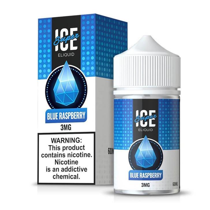 Super Ice Blue Raspberry 60ml E-Juice