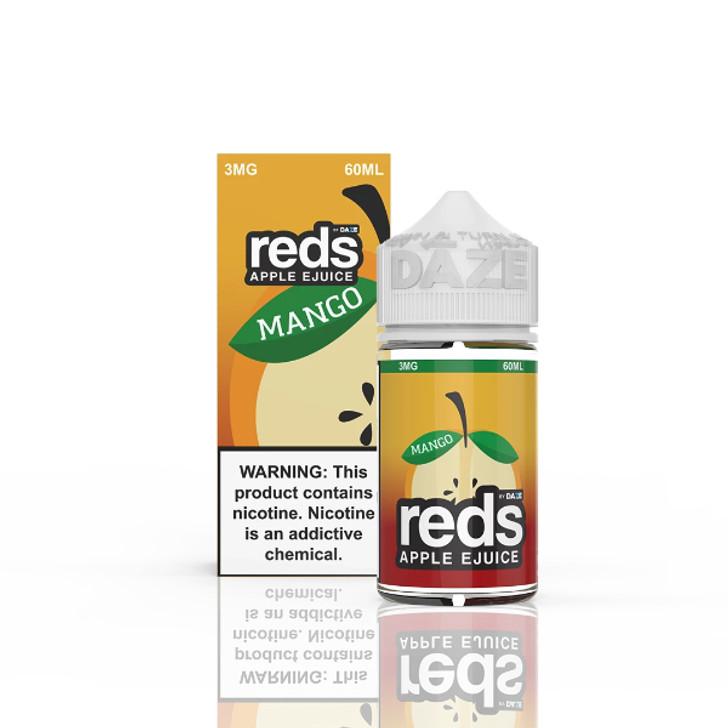 Reds Apple Mango  E-Liquid 60ml by 7 Daze eJuice (No Outer Packaging)