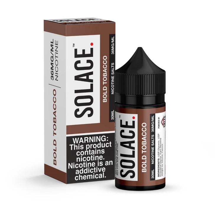 Solace Bold Tobacco 30ml E-Juice