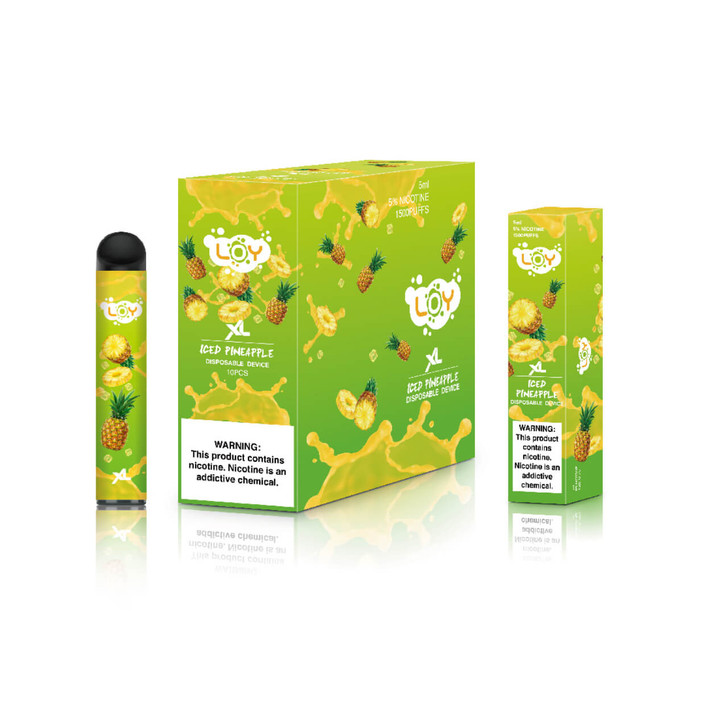 LOY XL Pineapple Iced Disposable Device