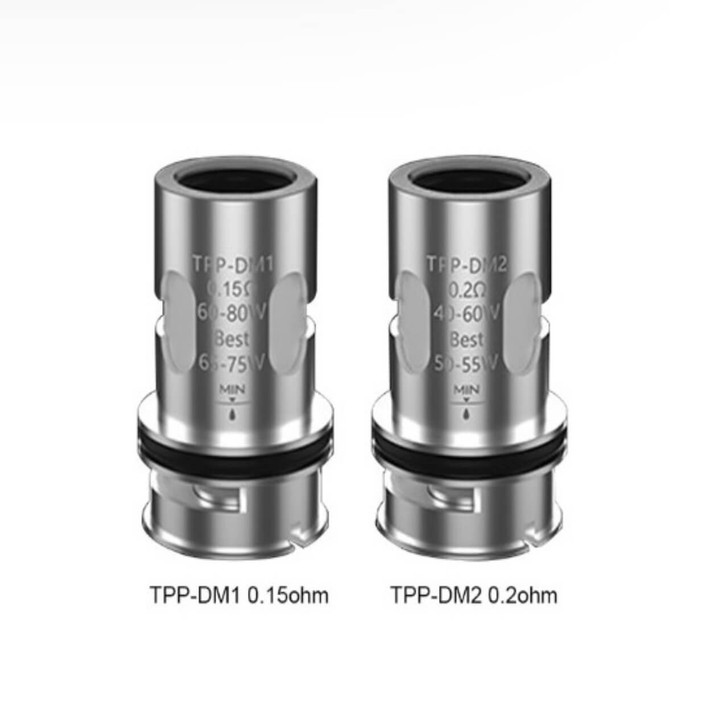 VooPoo TPP Replacement Coils (Pack of 3)
