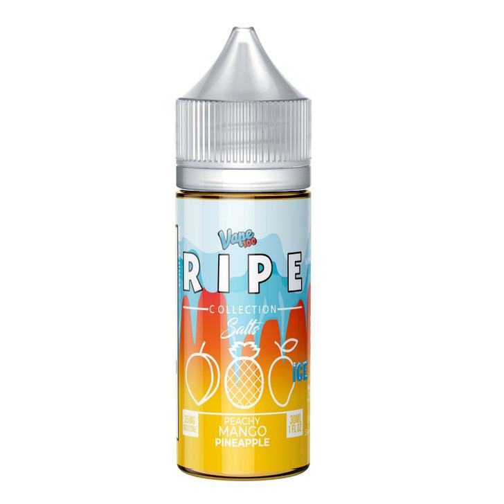 Ripe Ice Salts Collection Peachy Mango 30ml E-Liquid