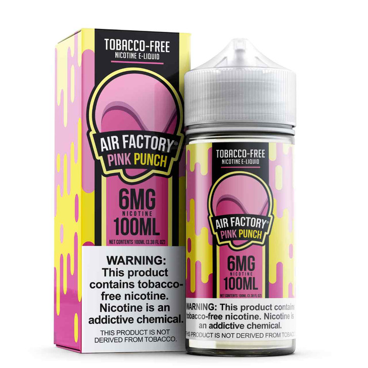 Air Factory Pink Punch Tobacco Free Nicotine 100ml E-Juice