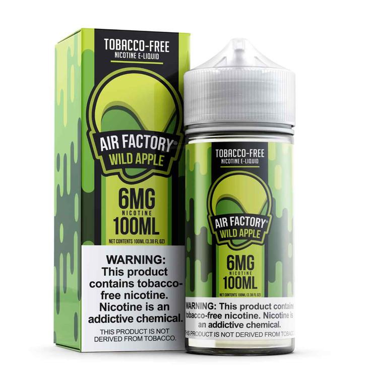 Air Factory Wild Apple Tobacco Free Nicotine 100ml E-Juice