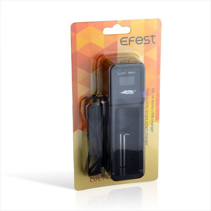 Efest LUC Mini Li-Ion Battery Charger - 1 Bay