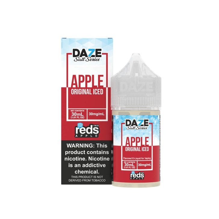 Red's Salt Apple Iced Tobacco Free Nicotine 30ml E-Juice