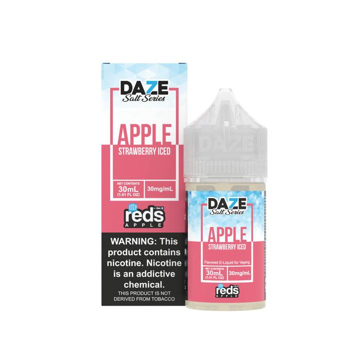 Red's Salt Apple Strawberry Iced Tobacco Free Nicotine 30ml E-Juice