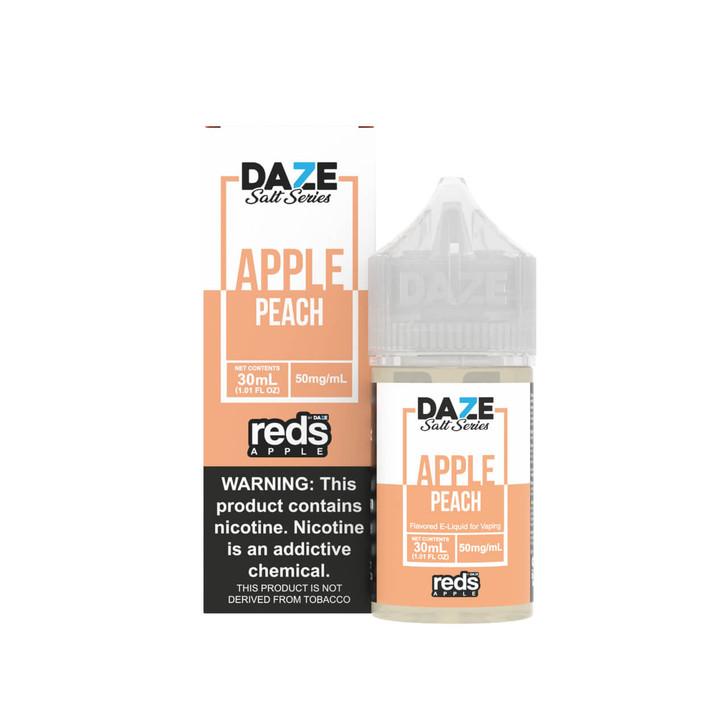 Red's Salt Apple Peach Tobacco Free Nicotine 30ml E-Juice