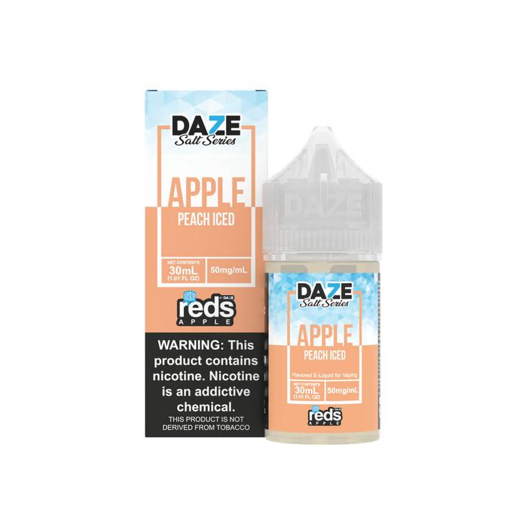 Red's Salt Apple Peach Iced Tobacco Free Nicotine 30ml E-Juice