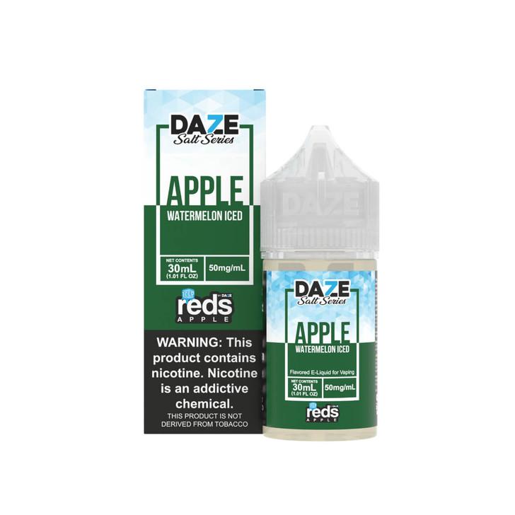 Red's Salt Apple Watermelon Iced Tobacco Free Nicotine 30ml E-Juice