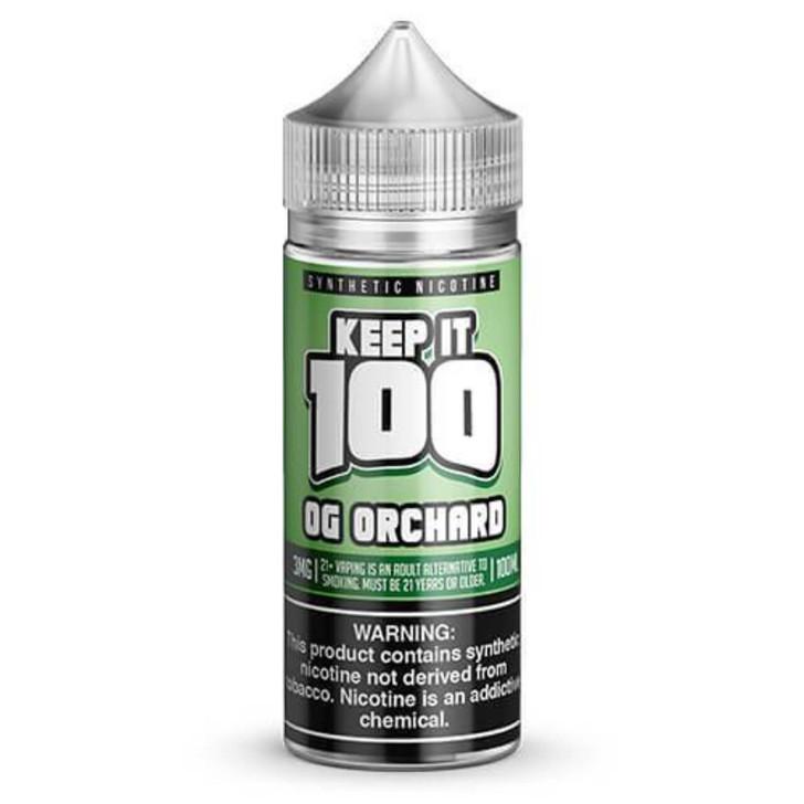 Keep it 100 OG Orchard Synthetic Nicotine 100ml E-Juice