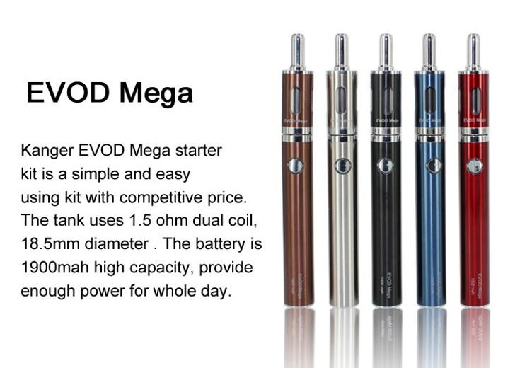 Kanger EVOD MEGA + EVOD MEGA Tank Starter Kit