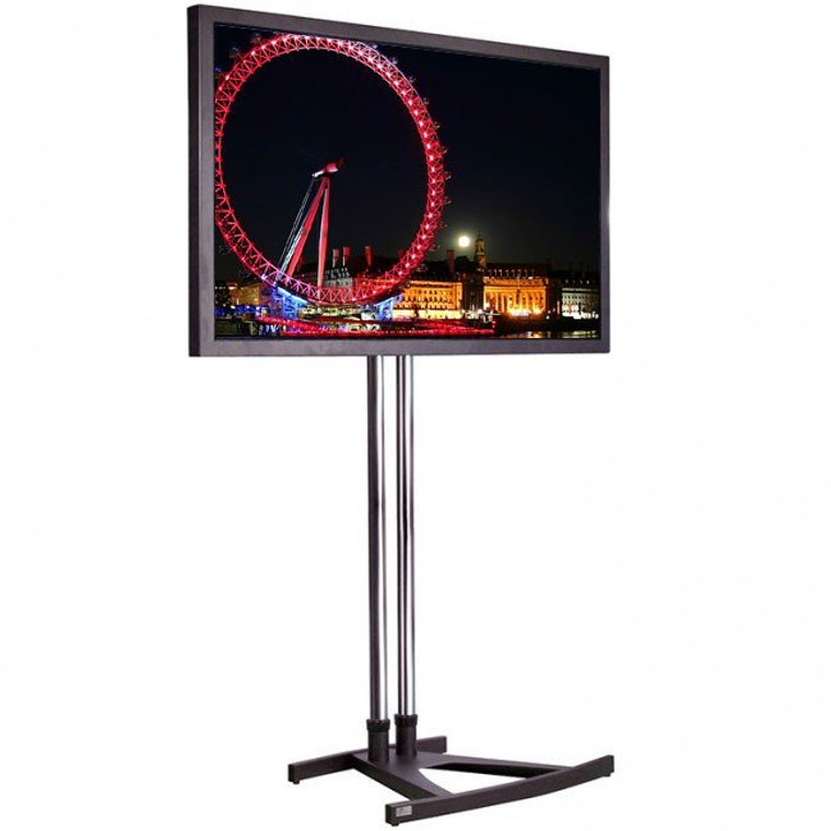 """65"""" 4K LED Super Slim Exhibition TV Screen Hire  with stand"""