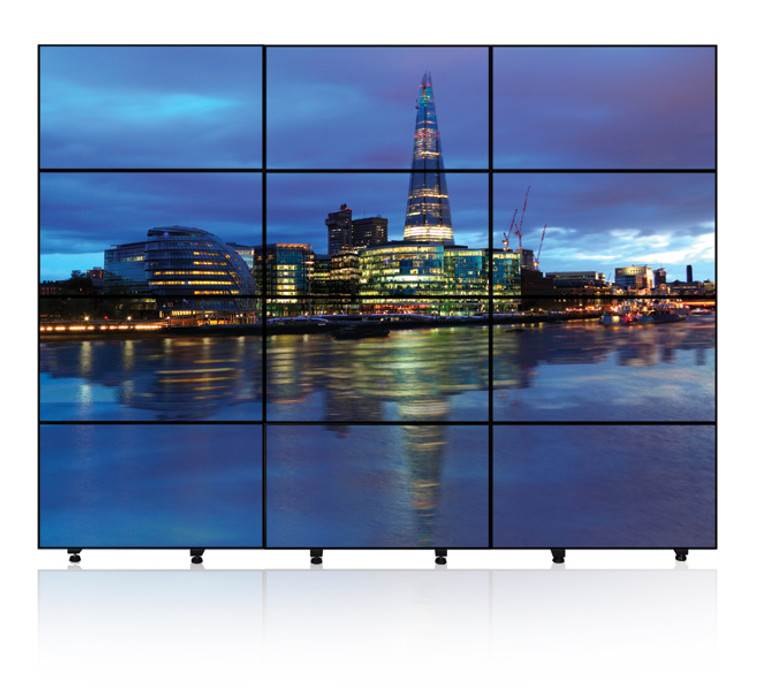 4 x 4 exhibition video wall rental