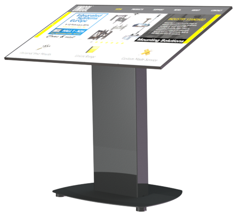 "55"" Touch Screen Monitor solution for Exhibitions"