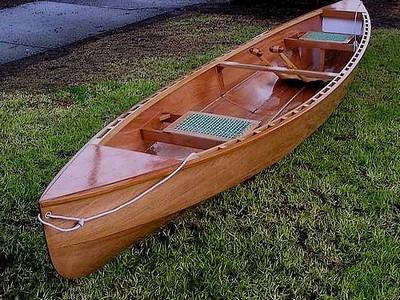 Eureka Canoe Printed Plans