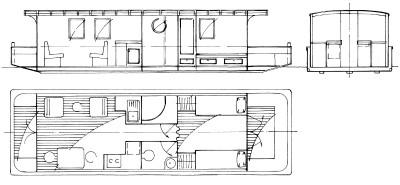 Somerset 11 Houseboat Plans