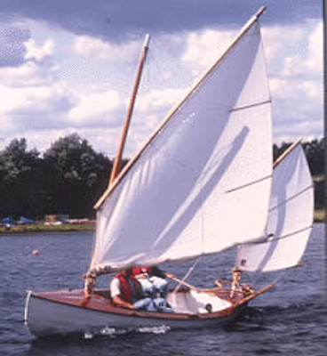 The Lillie Canoe Yawl Plans