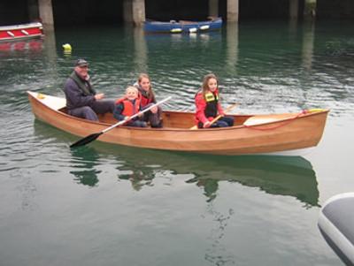 """12'9"""" Waterboy Open Canoe Plans"""