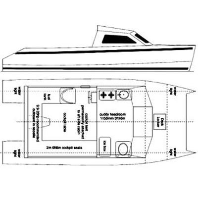 Skoota 18 Power Cat Plans PDF
