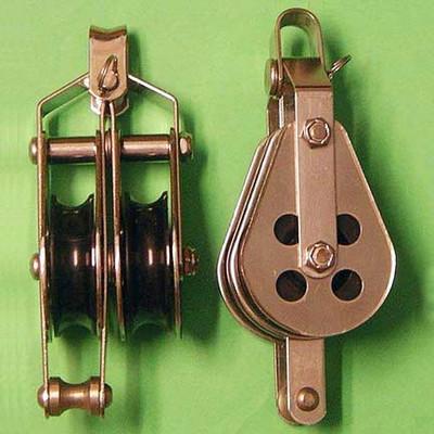 "1/2"" (13mm) Racelite Double Shackle Becket Blocks"