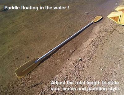 Kayak Style Paddle Plans PDF