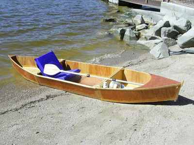 THE EZ2 CANOE Plans PDF