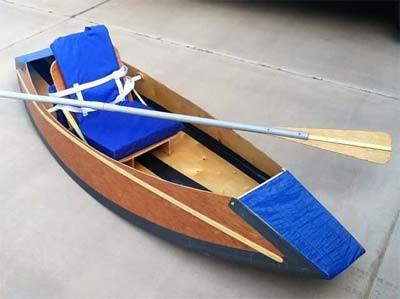 Fold-up Kayak Plans PDF