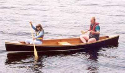 16' Strip Planked Pete Canoe Plans