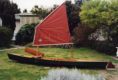 Drop-in Sail Rig for Canoes & Kayaks Printed Plans