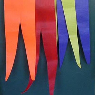Single Color Pennants